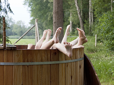 Chesters Scotland glamping with hot tubs